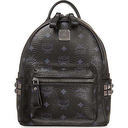 MCM Mini Stark backpack (Black