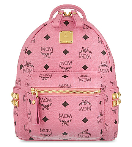 MCM Classic mini leather backpack (Pink
