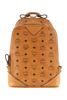 MCM Logo backpack small