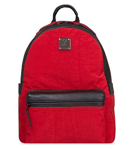 MCM Stark medium reversible backpack (Red