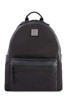 MCM Nylon & leather backpack