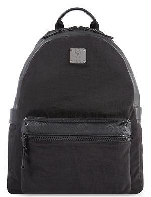 MCM Nylon & leather backpack