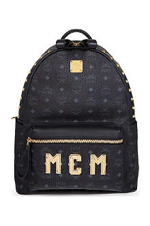 MCM Logo lettering medium backpack
