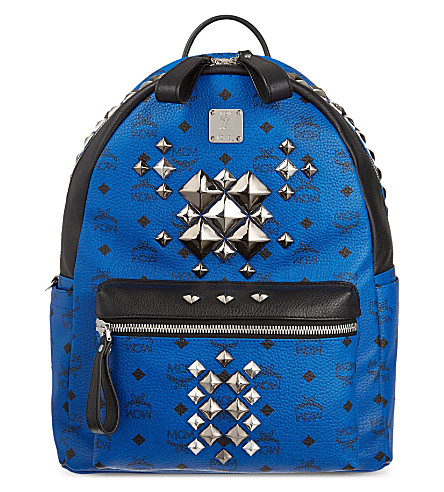 MCM Brock medium backpack (Blue