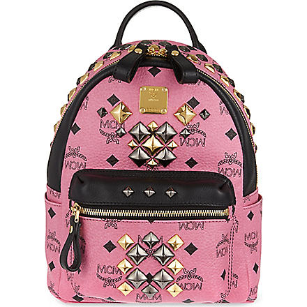 MCM Small Brock backpack (Pink