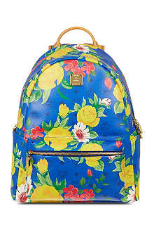 MCM Floral leather backpack