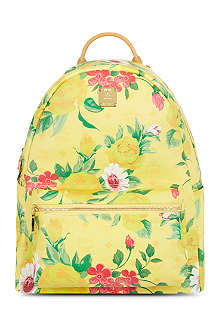 MCM Flower backpack