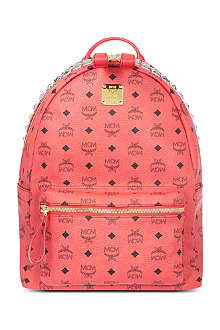 MCM Stark studded zip backpack