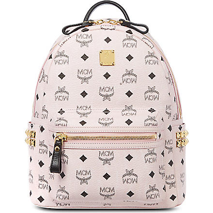 MCM Stark classic small backpack (Pink
