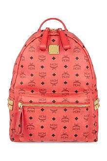 MCM Stark studded leather backpack