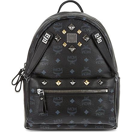 MCM Dual stark small backpack (Black