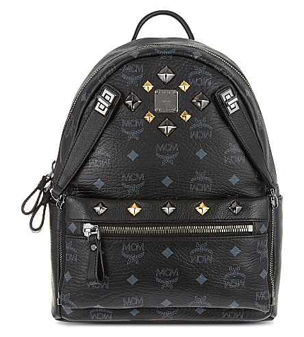 MCM Dual stark small backpack (Black