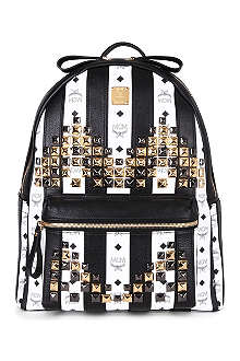 MCM Road to Paradise studded leather backpack