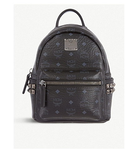 MCM Stark classic mini backpack (Black