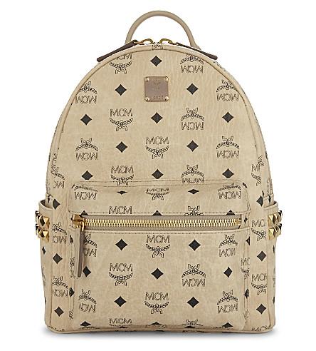 MCM Stark small backpack (Beige
