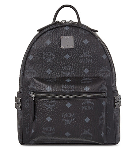 MCM Stark basic mini backpack (Black