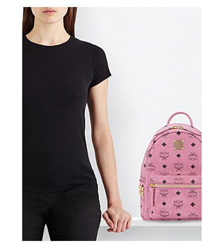 MCM Stark mini backpack (Pink