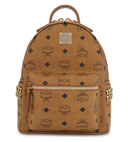 MCM Bebe Boo x-mini backpack (Cognac