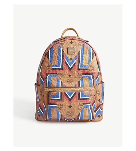 MCM Stark Gunta small backpack (Cognac