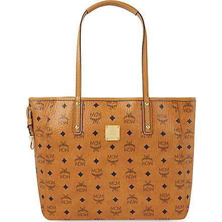 MCM Medium reversible shopper (Cognac/ jaguar brown