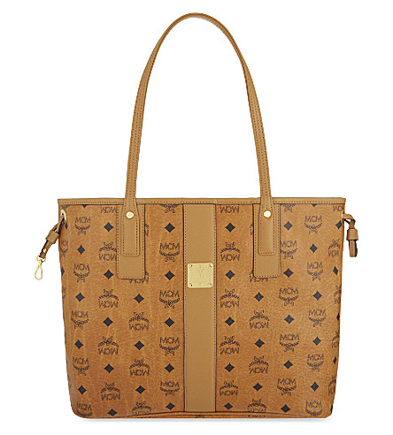 MCM Liz medium leather shopper (Cognac