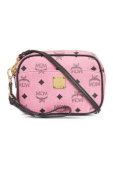 MCM Visetos mini cross-body bag