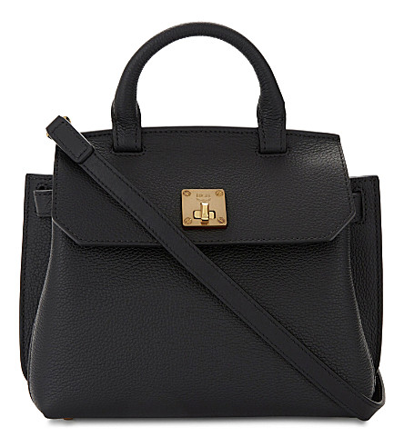 MCM Milla leather cross-body bag (Black