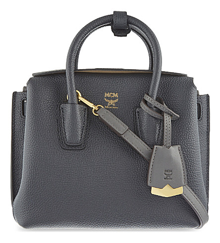 MCM Millatote mini bag (Phantom+grey