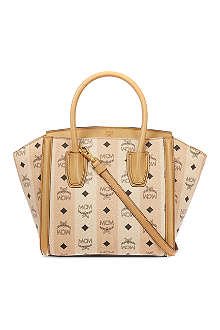MCM Road to paradise small leather tote