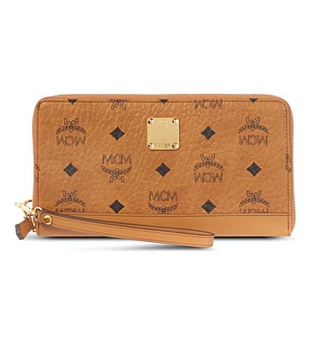 MCM Heritage wallet (Cognac