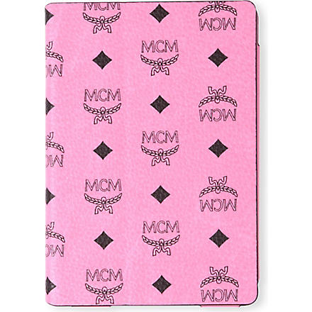 MCM Leather iPad case (Pink