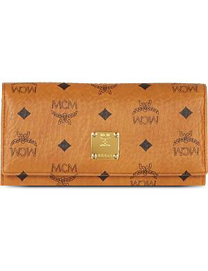 MCM Heritage leather wallet