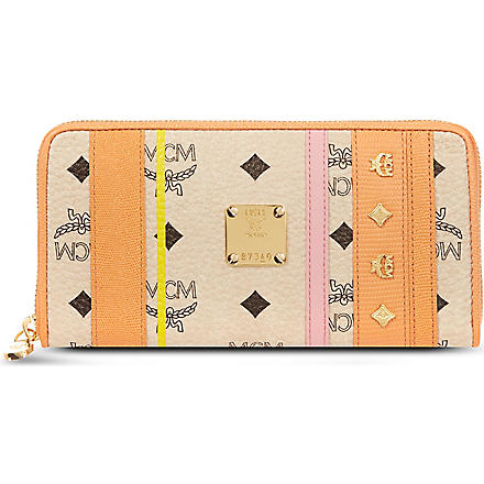 MCM Princess Lion wallet (Orange