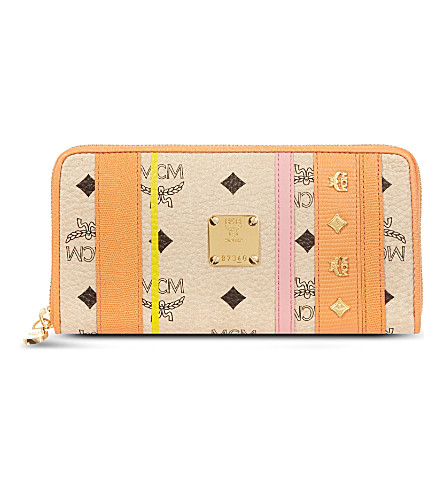 MCM Princess Lion wallet (Orange