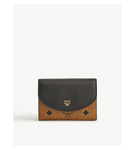 MCM Visetos small wallet (Black