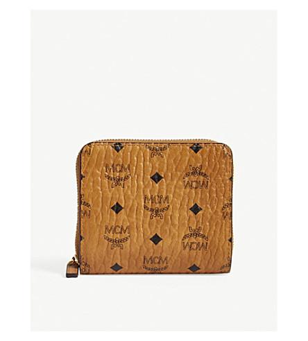MCM Visetos mini purse (Cognac