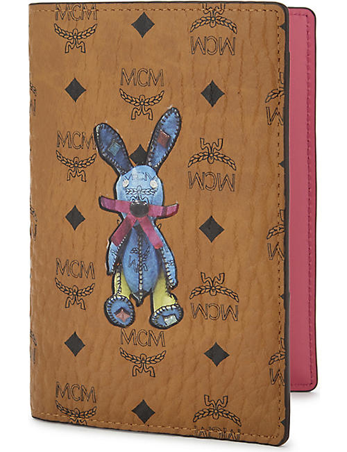 Gifts for occasions home gifts selfridges shop online mcm rabbit leather passport holder negle Gallery