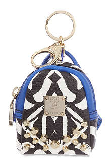 MCM Visetos backpack charm