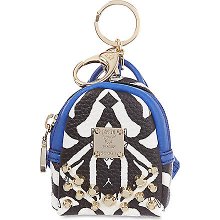 MCM Visetos backpack charm (Multi