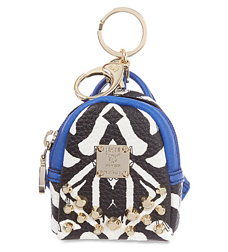 MCM Visetos backpack charm (Multi