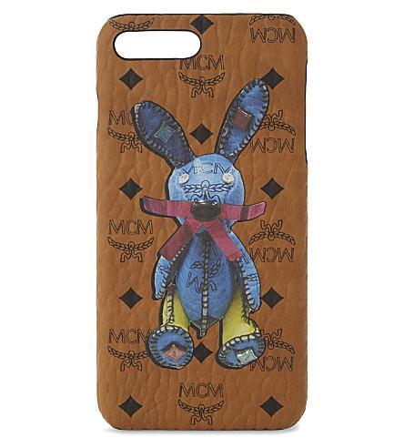 MCM Rabbit iphone 7 case (Cognac