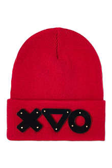KEELY HUNTER Black mirror beanie