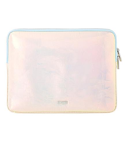 SKINNYDIP Ocean laptop case (Multi