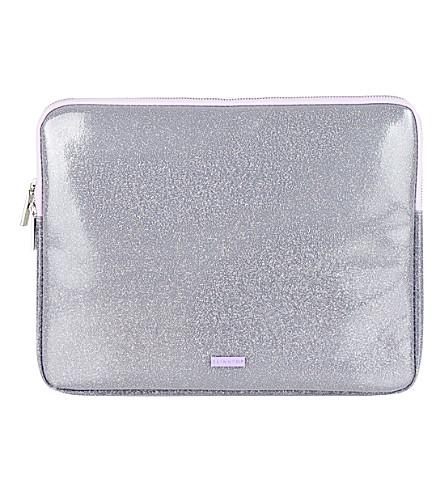 SKINNYDIP Sparkle laptop case (Silver