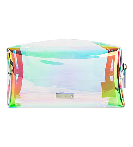 SKINNYDIP Dazzle holographic make-up bag (Multi
