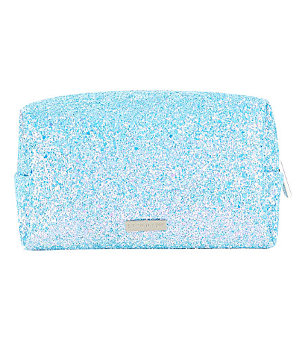 SKINNYDIP Dusk glitter make-up bag (Multi