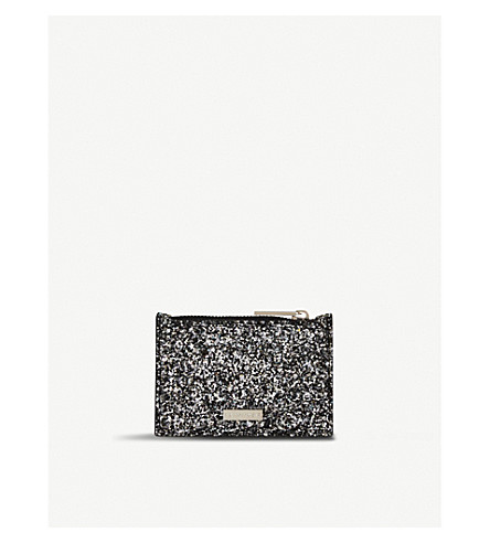 SKINNYDIP Midnight glittered coin purse (Midnight