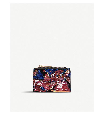 SKINNYDIP Luxe sequinned coin purse (Luxe