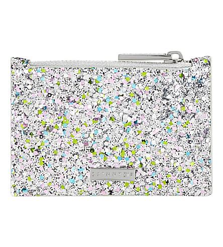 SKINNYDIP Antarctic glitter coin purse (Multi