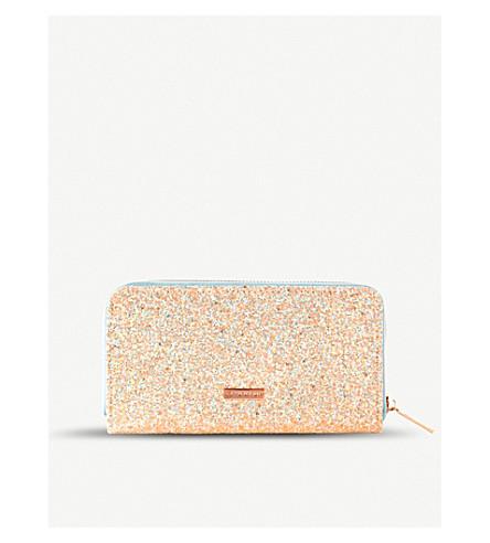 SKINNYDIP Ditsy glittered purse (Ditsy